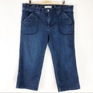 Levi's Crop Capri Jeans - Size 14